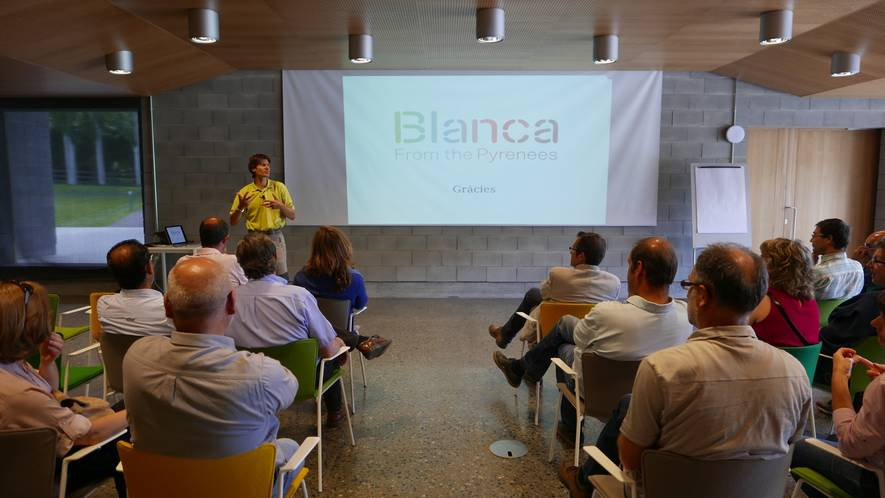 DAAM visit at Blanca | Blanca from the Pyrenees